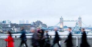London - shot of London bridge
