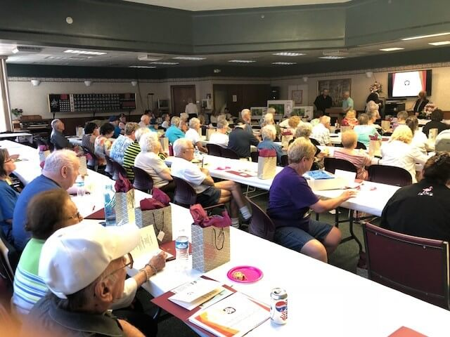 Senior Center Fraud Seminar