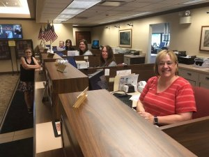 HCSB employees serving our customers!