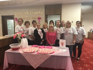 Chester employees supporting breast cancer awareness month