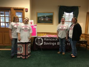 New Cumberland Tellers Supporting Breast Cancer Awareness Day