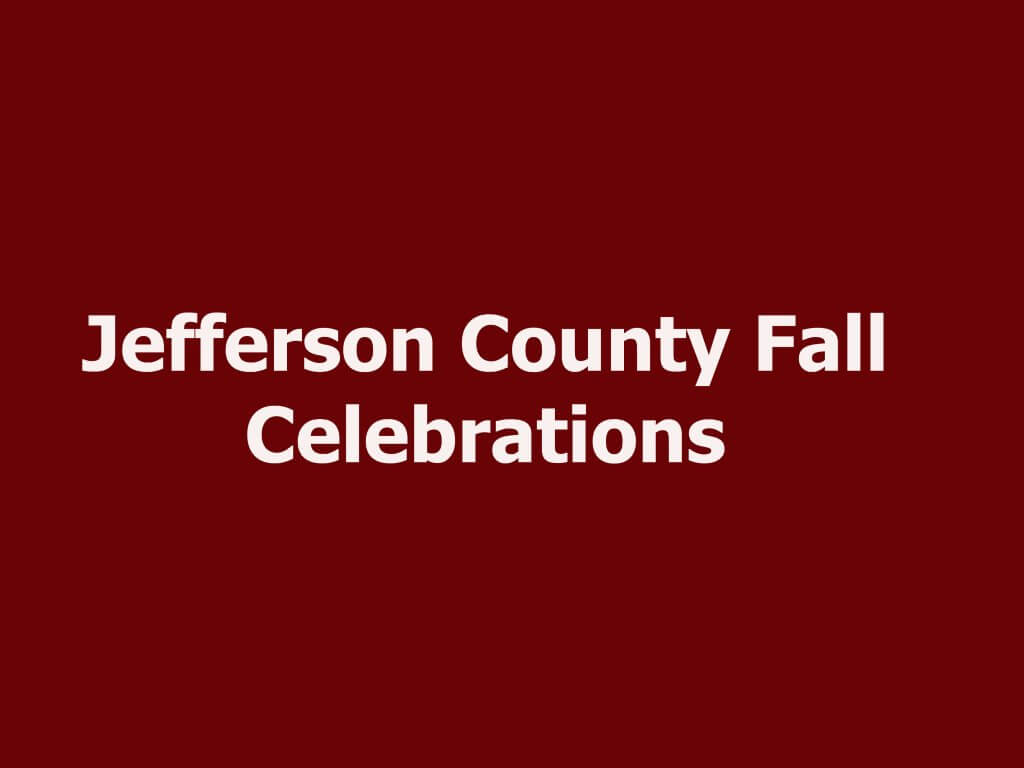 Jefferson County Fall Celebrations