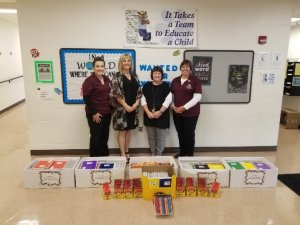 HCSB Employees Bank at School