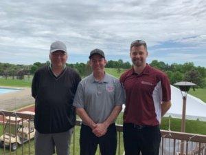 The golf team