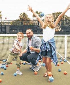 family sports fun
