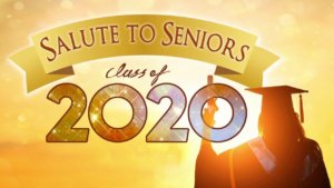sign with salute to seniors 2020