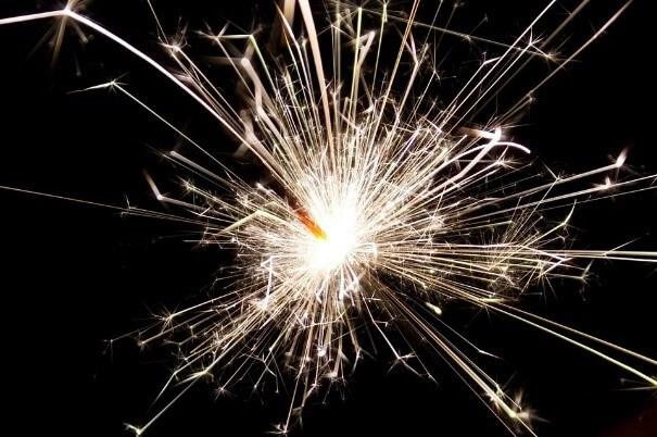 sparkler sparks