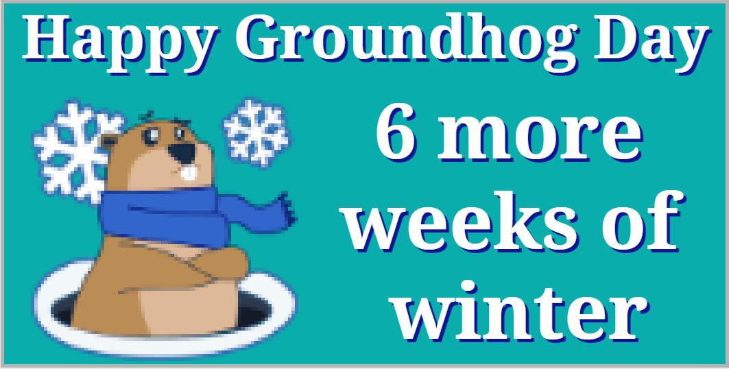 groundhog winter