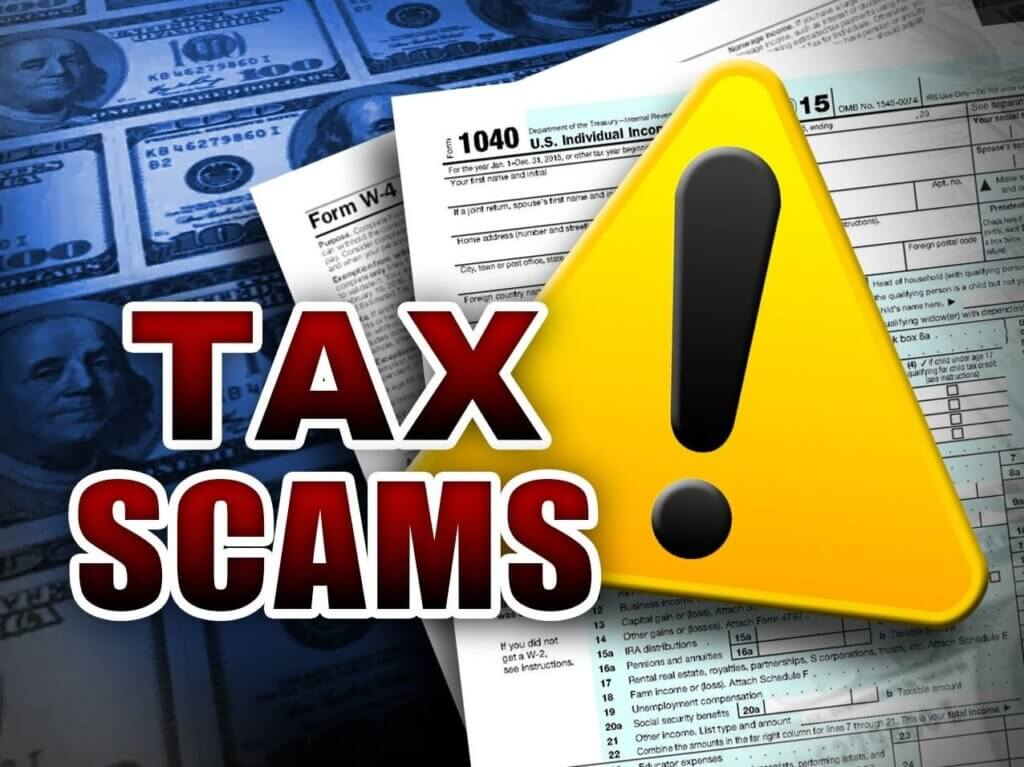 BEWARE of Tax Scams!